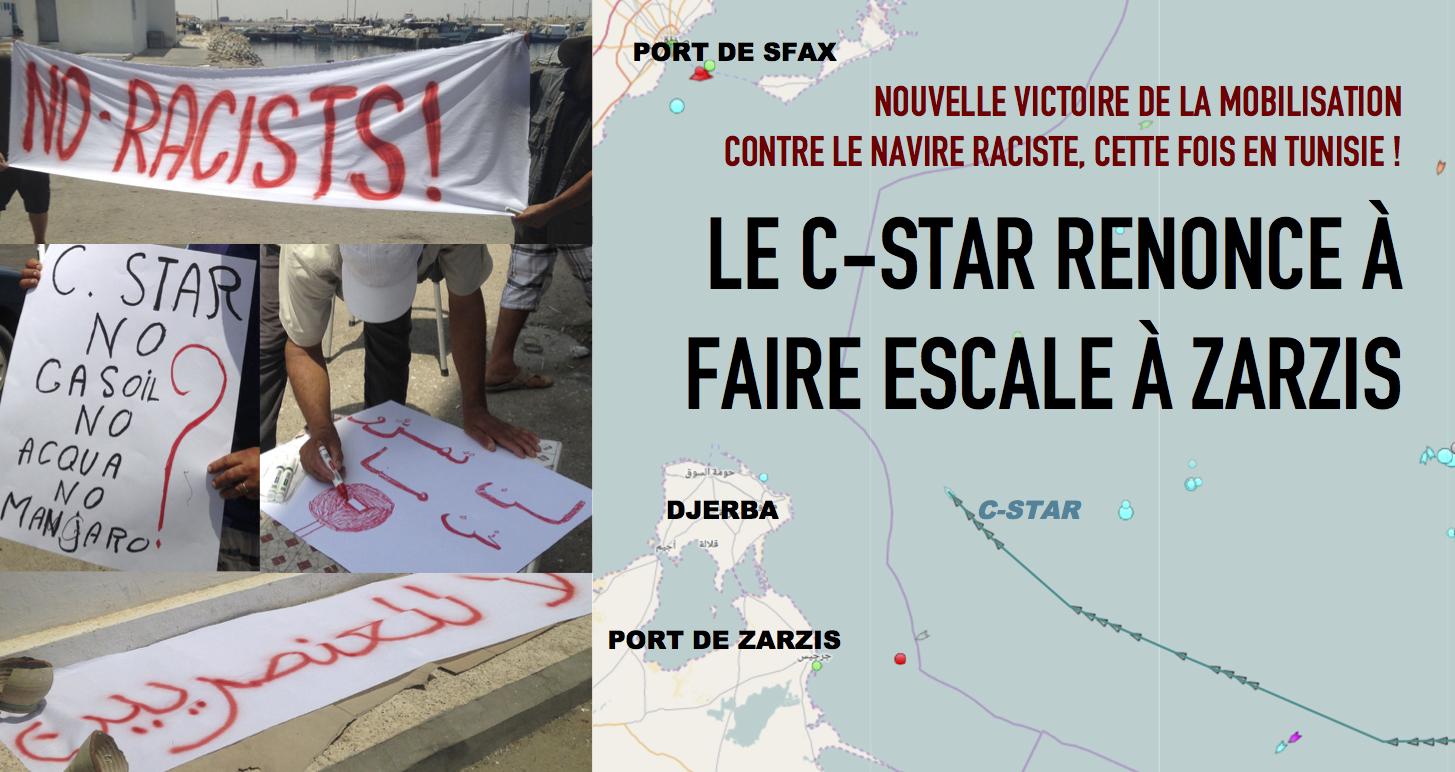es cest a laction collective que les antifascistes et antiracistes proposent en tunisie en gypte chypre en grce et en sicile partout - C Tunisie
