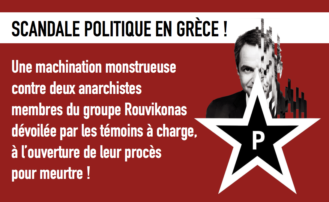 [GR] ¡Los testigos de la acusación durante el juicio revelan la maquinación del estado contra los anarquistas!
